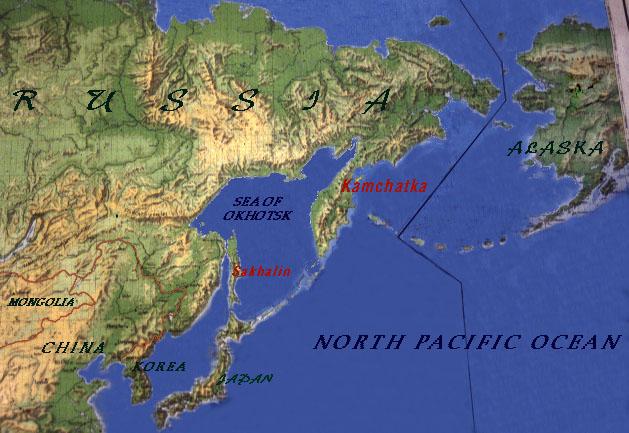 Koryaks and Kamchatka on volga river map, novaya zemlya map, kolyma river map, kola peninsula, volgograd map, white sea map, north equatorial map, sea of okhotsk map, sea of okhotsk, russia map, lake baikal, mainland asia map, saint petersburg, bougainville trench map, don river, bering strait, chukchi peninsula map, west siberian plain, kuril islands, caucasus map, the antarctic circle map, iceland map, russian far east, bering sea map, aral sea map, ob river map, kunashir island map, lake baikal map, klyuchevskaya sopka, malay peninsula map, aleutian islands,